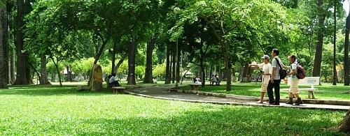 Công viên Tao Đàn, Quận1