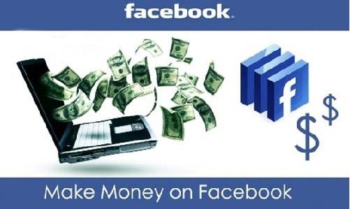Làm giàu từ facebook