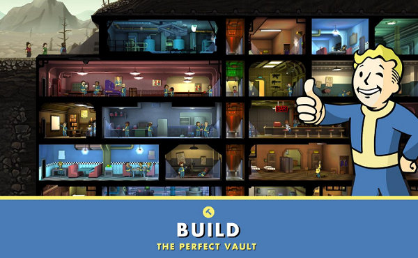 Game sinh tồn - Fallout Shelter