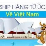 Vận chuyển hàng từ Úc về Việt Nam
