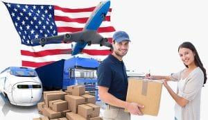 Vận chuyển hàng hoá đi Mỹ giá rẻ