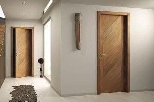 Cửa gỗ công nghiệp đa dạng về mẫu mã, màu sắc,…