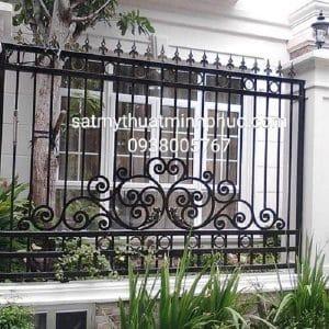 Hàng rào sắt bền bỉ