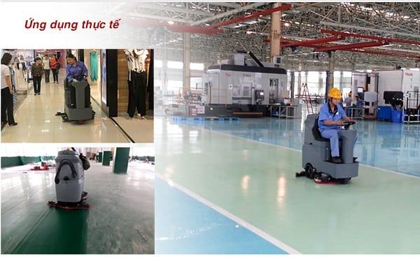 Sử dụng máy chà sàn nhà xưởng mang lại nhiều lợi ích
