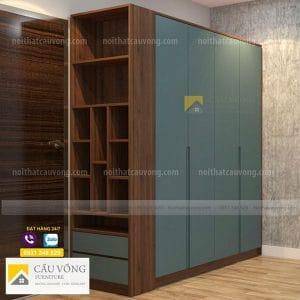 Tủ quần áo chính hãng làm từ gỗ MDF cao cấp