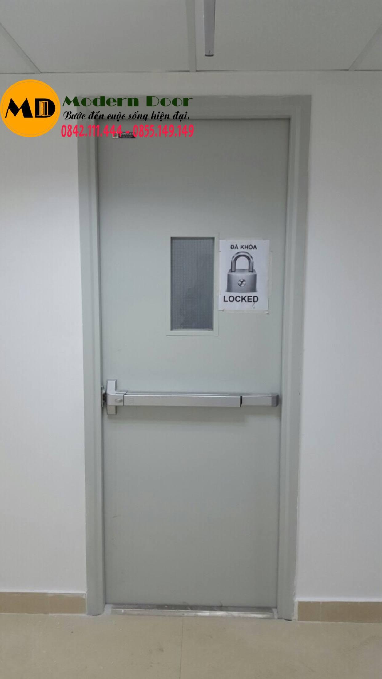 Cửa thép chống cháy uy tín nhất tại Modern Door