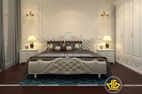 Mẫu giường ngủ tân cổ điển châu Âu
