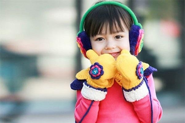 Chăm sóc sức khỏe cho bé vào mùa đông