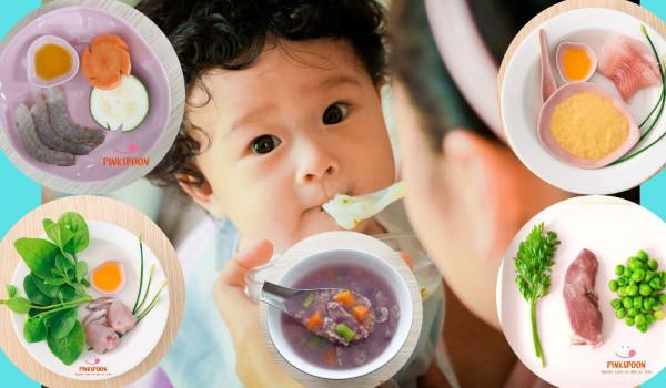 Các món ăn dinh dưỡng cho bé