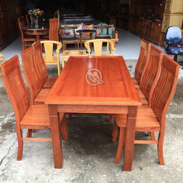 Bộ bàn ăn 6 ghế tại Đồ gõ Minh Quốc mã sản phẩm SP212