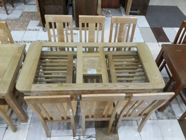 Bàn ăn bằn gỗ sồi 6 ghế được ưa chuộng nhất hiện nay