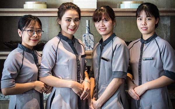 chuyên cung ứng đồng phục cho khách sạn, tiệm ăn, cửa tiệm coffee, hotel 5 sao