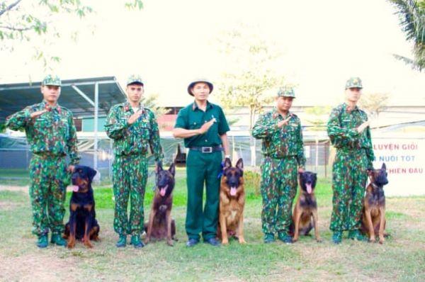 Đội ngũ nhân viên của trung tâm huấn luyện chó Sài Gòn DTC luôn tận tâm và nhiệt tình