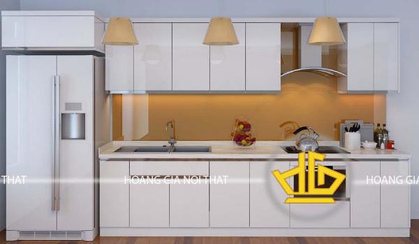Mẫu tủ bếp acrylic đẹp chất lượng 2
