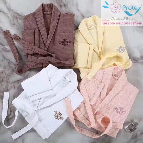 Công ty Protex sản xuất khăn sạch cao cấp, áo choàng tắm khách sạn chất lượng