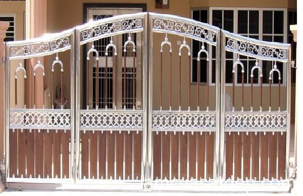 Tính năng nổi bật cửa mẫu cửa cổng 4 cánh làm bằng inox
