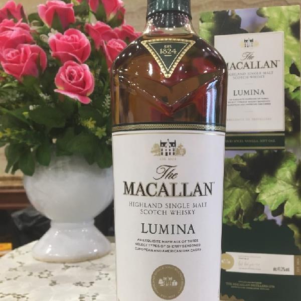 Thông tin sản phẩm rượu Macallan Luminia