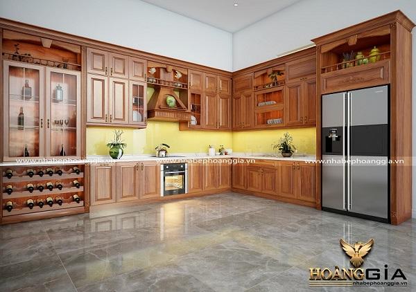 Tủ bếp hiện đại và tiện dụng hiện nay