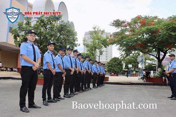 Bảo vệ Hòa Phát - công ty dịch vụ bảo vệ tại tphcm uy tín, đào tạo chuyên nghiệp