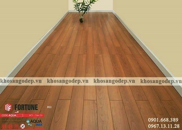 Sàn gỗ fortune có tốt không về hình dạng bên ngoài giống với gỗ tự nhiên